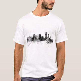 Skyline de Christie Texas do corpus Camiseta