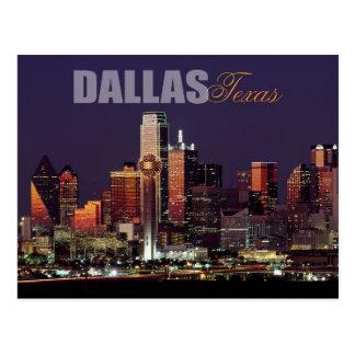 Skyline de Dallas, Texas Cartão Postal