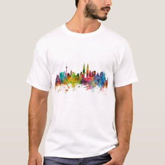 Skyline de Kuala Lumpur Malaysia Camiseta