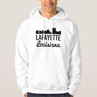 Skyline de Lafayette Louisiana Moletom