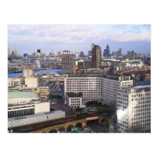 Skyline de Londres Cartão Postal