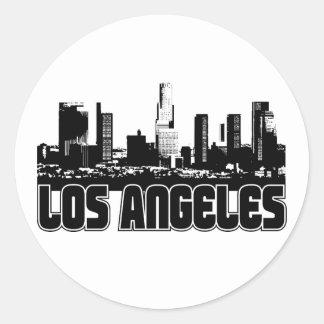Skyline de Los Angeles Adesivo