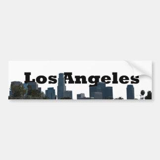 Skyline de Los Angeles com a Los Angeles no céu Adesivo Para Carro