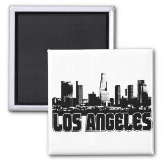 Skyline de Los Angeles Imãs De Refrigerador