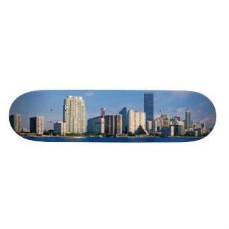 Skyline de Miami, Florida Shape De Skate 18,1cm