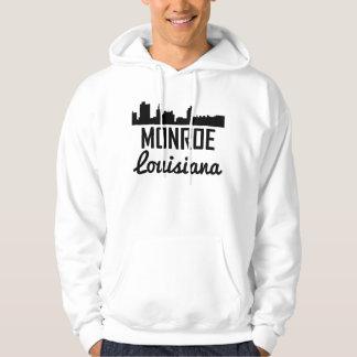 Skyline de Monroe Louisiana Moletom