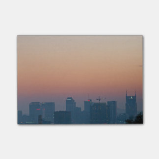 Skyline de Nashville Bloco Post-it