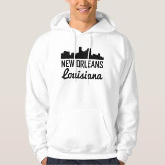 Skyline de Nova Orleães Louisiana Moletom