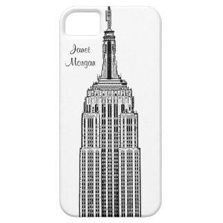 Skyline de NYC - olhar gravado Empire State Capa Para iPhone 5