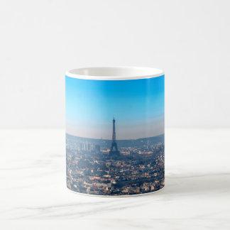 Skyline de Paris Caneca De Café