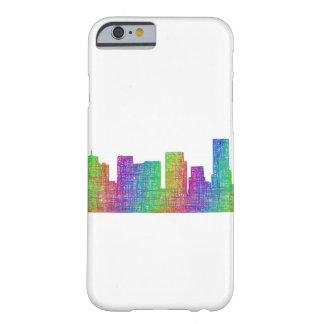 Skyline de Portland Capa Barely There Para iPhone 6