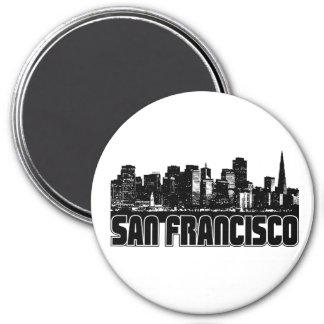 Skyline de San Francisco Imas De Geladeira