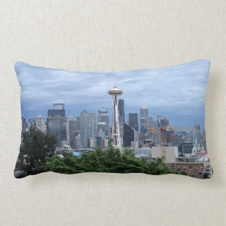 Skyline de Seattle Almofada Lombar