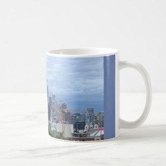 Skyline de Seattle Caneca De Café