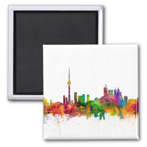Skyline de Toronto Canadá Ima De Geladeira