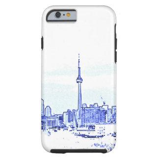 Skyline de Toronto Capa Tough Para iPhone 6