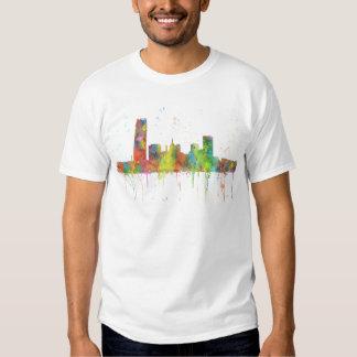 SKYLINE DO OKLAHOMA CITY, OKLAHOMA CAMISETA