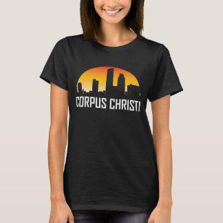 Skyline do por do sol de Corpus Christi Texas Camiseta