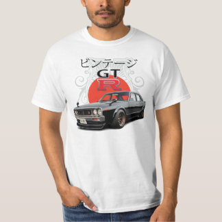 Skyline do vintage GTR Camiseta