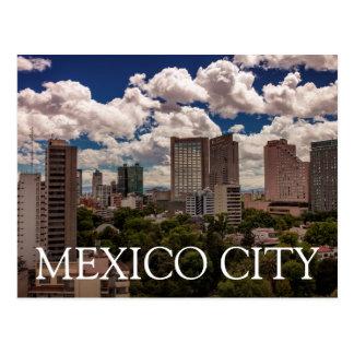 Skyline dos hotéis em Polanco Cidade do México Cartão Postal