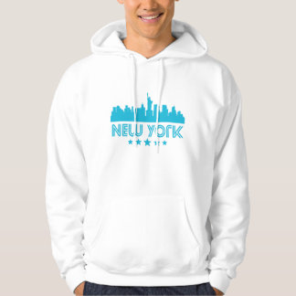 Skyline retro da Nova Iorque Moletom