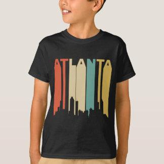Skyline retro de Atlanta Camiseta