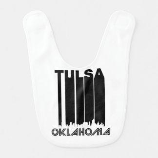 Skyline retro de Tulsa Babador Infantil