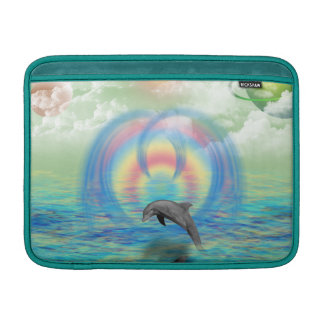 Sleeve De MacBook Ascensão do golfinho