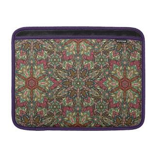 Sleeve De MacBook Design floral do teste padrão do abstrato da