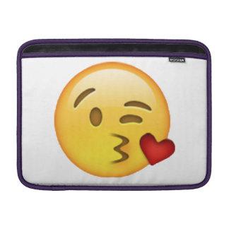 Sleeve De MacBook Emoji - beijo de jogo