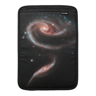 Sleeve De MacBook Galáxia cor-de-rosa