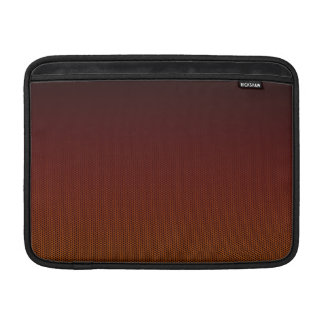 Sleeve De MacBook Hex alaranjado do esmagamento