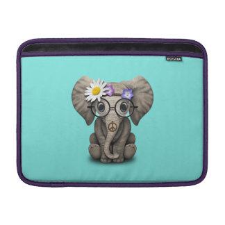 Sleeve De MacBook Hippie bonito do elefante do bebê