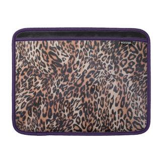 Sleeve De MacBook Impressão da pele do leopardo