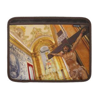 Sleeve De MacBook Jesus na cruz