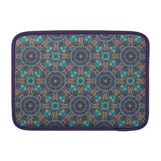 Sleeve De MacBook Teste padrão floral étnico abstrato colorido da