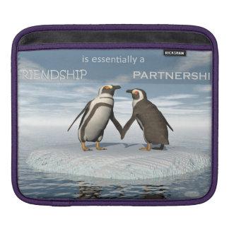Sleeve Para iPad A amizade é essentailly uma parceria