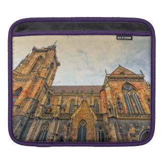 Sleeve Para iPad A igreja de St Martin, Colmar, France