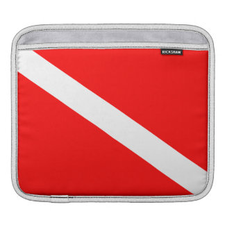 Sleeve Para iPad Bandeira do mergulho autónomo