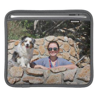 Sleeve Para iPad Bennett - mini australiano - Rosie - praia de