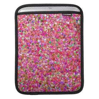 Sleeve Para iPad Brilho moderno #4 do grão do mosaico multicolorido