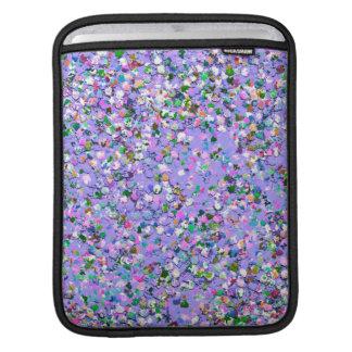 Sleeve Para iPad Brilho moderno #6 do grão do mosaico multicolorido