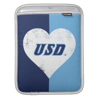 Sleeve Para iPad Coração do vintage de USD