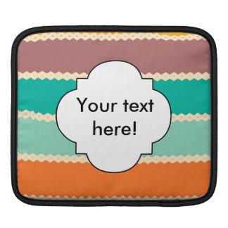 Sleeve Para iPad Design do abstrato das fileiras do Rhombus