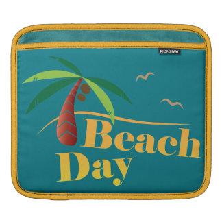 Sleeve Para iPad Dia perfeito da praia do verão
