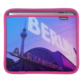 Sleeve Para iPad Estação de Berlim Alex com torre 001.F.001 da tevê
