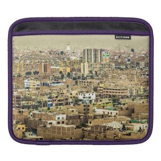 Sleeve Para iPad Ideia aérea de subúrbios de Lima, Peru