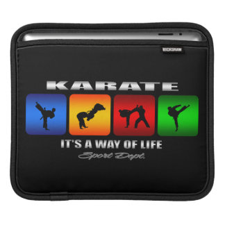 Sleeve Para iPad Karaté legal é um modo de vida