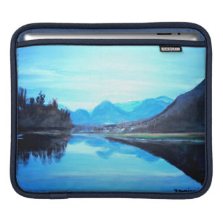 Sleeve Para iPad Lago Hatzic - almofada do iPad horizontal