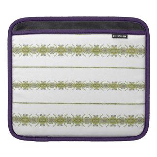 Sleeve Para iPad Listras florais étnicas